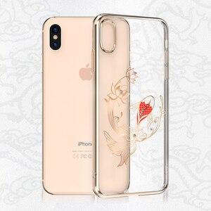 Image 3 - Kingxbar Diamond Cover Dành Cho iPhone X/ XS/ XS MAX Tôn Tạo Với Tinh Thể Từ SWAROVSKI Đính Kim Cương Giả Dành Cho iPhone XS/ MAX