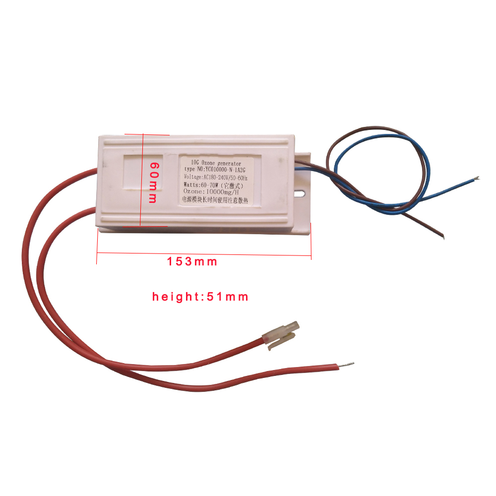 110v 220v Dc12v 10g 5g 3g Ozone Air Water Purifier Silica Tube Oreck Touch Wiring Diagram Product Description