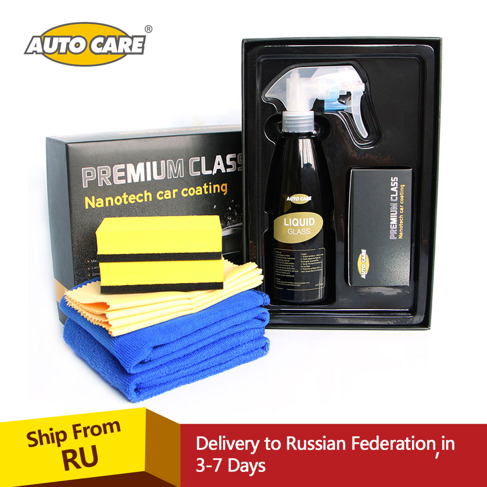 Liquid Glass Nano tech Glass Car Coating Kit 230ml Crystal Hydrophobic Protectant Rain Water Repel Car Window Paint Surface