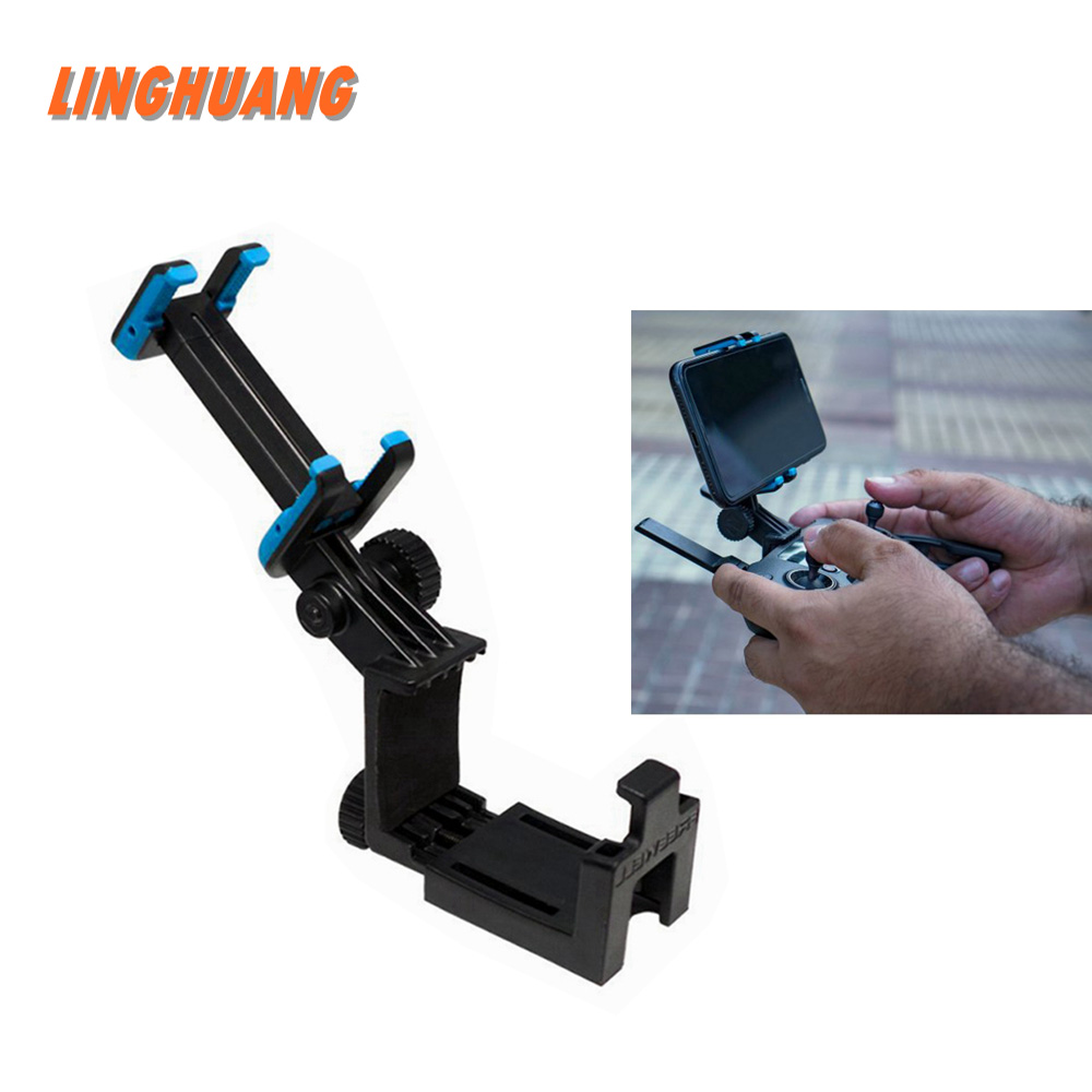 Tablet Phone Mount Holder Stand Bracket Clip For DJI Drones Remote Control Universal DJI Mavic 2 Pro/Air Spark Remote Controller