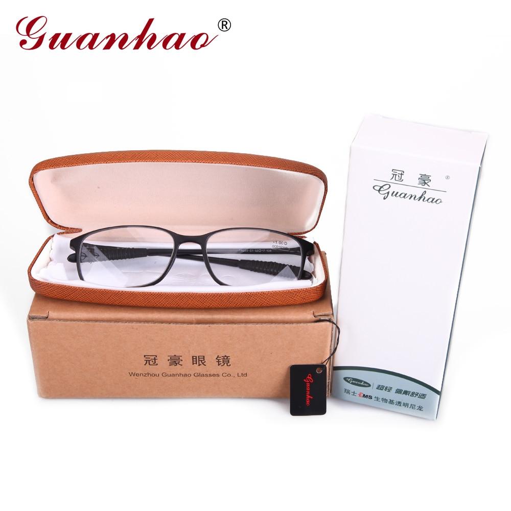 Guanhao TR90 Montura de lente de resina Gafas transparentes Hombre - Accesorios para la ropa - foto 6