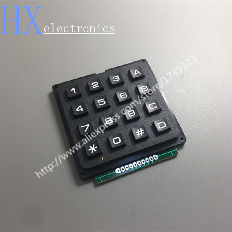 где купить Free shipping 1PCS NEW 12 Key Membrane Switch Keypad 4 x 3 Matrix Array Matrix keyboard membrane switch дешево