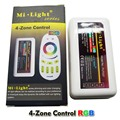 1 Pcs Série Mi Luz 2.4G 4-zonas 18A DC 12 V 24 V Sem Fio Controlador RGB LED para RGB luz de tira conduzida