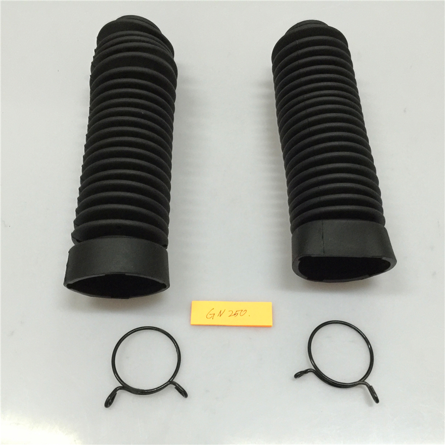 STARPAD For Suzuki GN250 dedicated front shock absorber dust cover ...