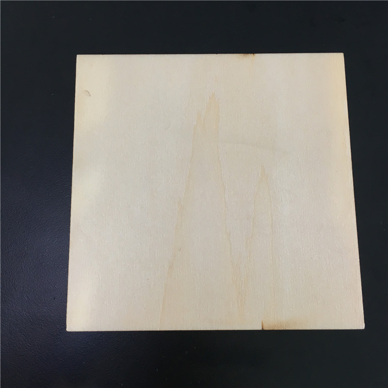 1pc J365Y 100*100mm Basswood Laminated Board Artificial Wood Board Model Material DIY Using High Quality On Sale plywood