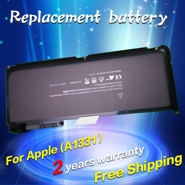 "JIGU A1331 Replacement Laptop Battery For Apple MacBook A1342 MC207 MC516 For MacBook 13"" Pro 15"" 17"" 13.3"""