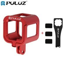 PULUZ Housing Shell For GoPro Hero6 Aluminum Alloy Protective Cage+Insurance Frame 6.5*4.4*4cm Housings Go Pro HERO5