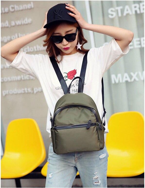 HTB1nYWmieALL1JjSZFjq6ysqXXay 2019 New Women Backpacks Vintage Korea Brand Design Bag Travel Anti Theft Backpack Nylon High Quality Small Rucksack ZZL188
