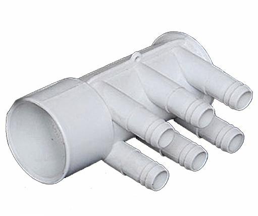 Spa hot tub aqua manifold pvc dead end quot ports