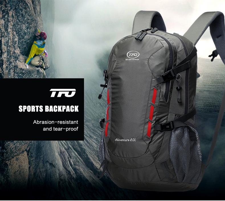 TFO 40L Waterproof Hiking Backpack Bags