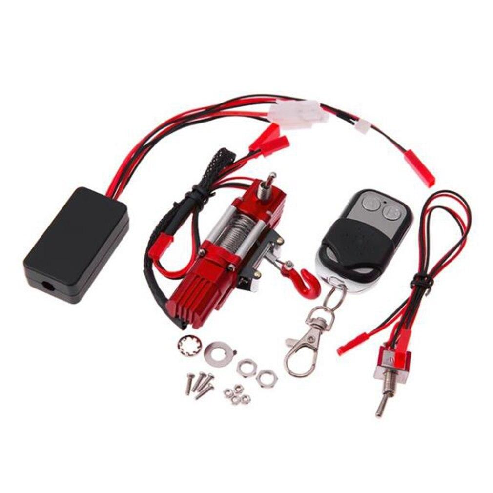 RC modèle voiture automatique sans fil télécommande métal crochet ensemble pour 1/10 Axial SCX10 RC chenille escalade Rock voiture jouet pièces