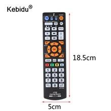 Kebidu الذكية التحكم عن بعد تحكم الأشعة تحت الحمراء التحكم عن بعد مع وظيفة التعلم للتلفزيون CBL DVD SAT ل L336 صندوق التلفزيون