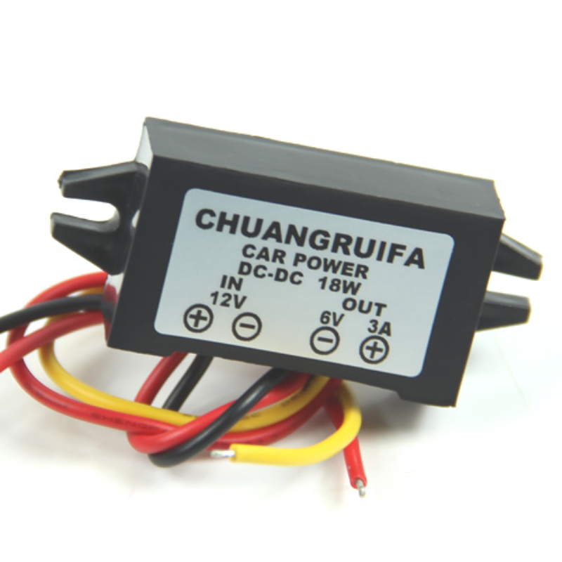 DC/DC Converter 12V Step Down To 6V 18W Max 3A Power Supply Waterproof -Y103
