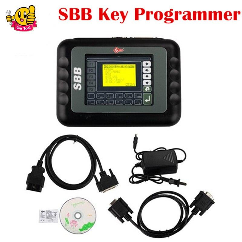 ФОТО Newest Professional Universal Auto SBB Key Programmer Multi-language SBB V33.02 Silca Key Programmer Key Maker Fast Shipping