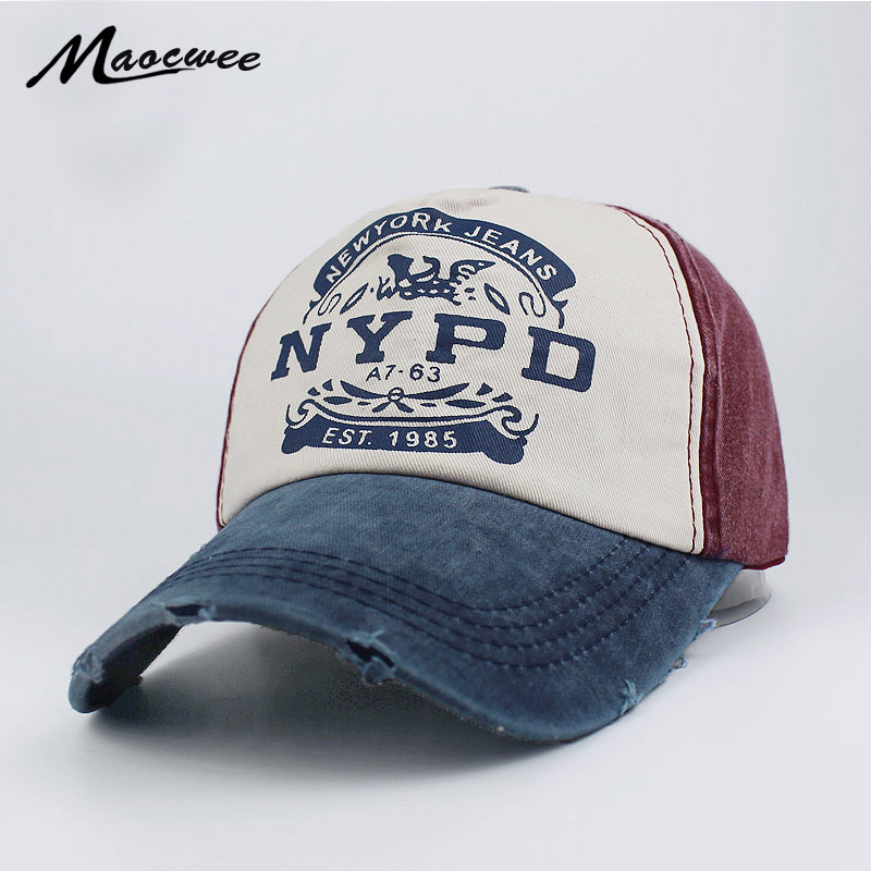 NYPD   Baseball   Hat EST 1985 Washed Cotton Adjustable Hip-hop Hats Woman Man NYPD   Baseball     Cap   Hat Snapback Gorro Dad Snapback   Cap