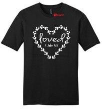 Amado religioso dos homens macio t camisa jesus vintage bíblia cristã m 234xl v196 legal casual orgulho t camisa unisex nova moda