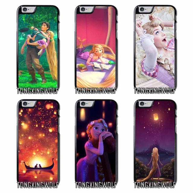 pretty nice e0e4d 5b579 US $4.99 |Tangled Flynn and Rapunzel Cover Case For iPhone 4 4s 5 5c 5s se  6 6s 7 8 plus x xiaomi redmi note oneplus 3 3T 4X 3s-in Half-wrapped Case  ...