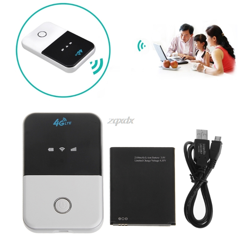 Wireless Wifi Router 3G 4G Lte Hotspot Car Wifi Router Sim Card Slot MF825 July Drop ship