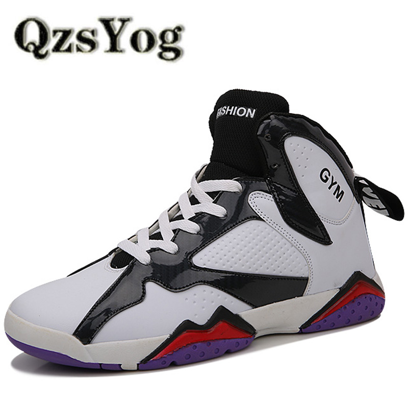 Men Basketball Shoes High Top Athletic Ankle Boots Outdoor Traning Sport Sneaker