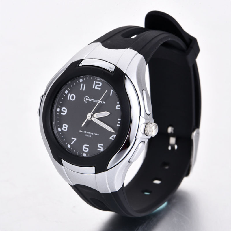 Top New Children's Waterproof Watch Boys And Girls Luminous Watches Fashion Trend Quartz Movement Students Learn Christmas Gifts