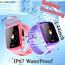 Smarcent V59 Waterproof Child GPS Tracker Smart boys girls Watch SOS Positioning Anti Lost For Kids Can Swimming And Bathing