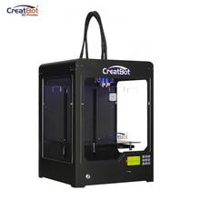 CreatBot Printer set DX02 + 2kg 3d printer filaments abs 2 tapes 4 brass nozzles /Dual Extruder Large metal frame 300*250*300