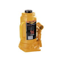 Домкрат гидравлический SPARTA 50327 (Бутылочный тип, грузоподъемность 16 т, высота подхвата 220 мм, высота подъема 420 мм)