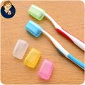 5Pcs/set Face Portable Toothbrush Holder Case Travel Hiking Camping Toothbrush Head Protect Plastic Tooth Box