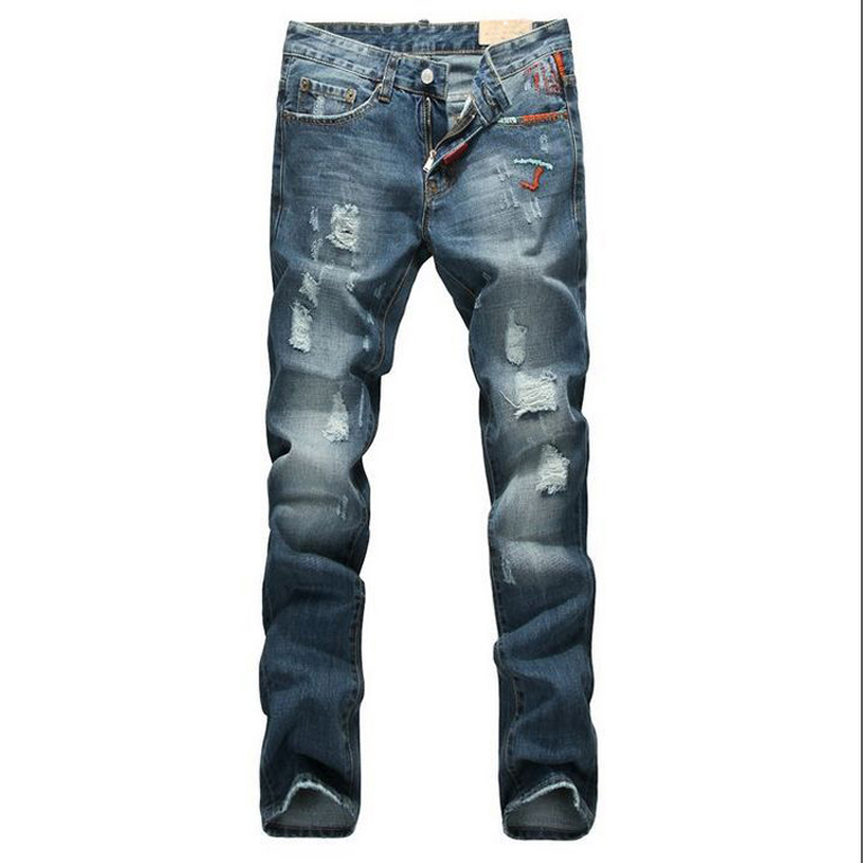 New Arrival Mens Designer Jeans Luxury Classic Slim Fit Casual Jeans Pant Men Fashion Straight Denim Biker Jeans Man Pants new men s autumn elastic black brand jeans casual fashion straight cassical denim pants men slim male jeans meth pant for man