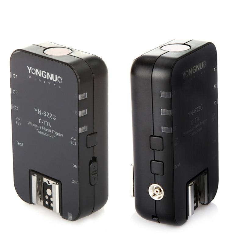 Yongnuo YN-622C Беспроводной TTL-ВСПЫШКИ Триггера 2.4 ГГц 1/8000 s Transeiver для Canon 7D 5DII 5 5DIII 1DIV 1 5DIII 5D