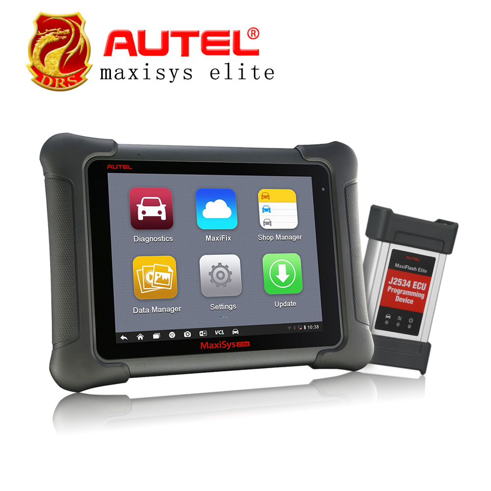 Original AUTEL MaxiSys Elite Diagnostic Tool Support J2534 ECU Programming Update From MS908P 908PRO 2 years free update Scanner