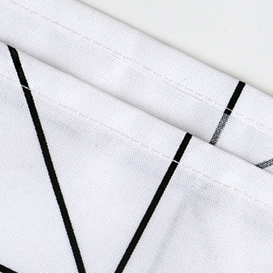 Image 5 - Fashion White Grid Print Blinds Curtains For Bathroom Variety Size Polyester Bath Curtain  Waterproof Shower Curtains Home Decor