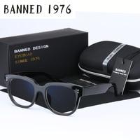 BANNED 1976 Top Quality Anti Blue Light Uv400 Men Women Optical Eyeglasses Frame Reading Goggles Cool