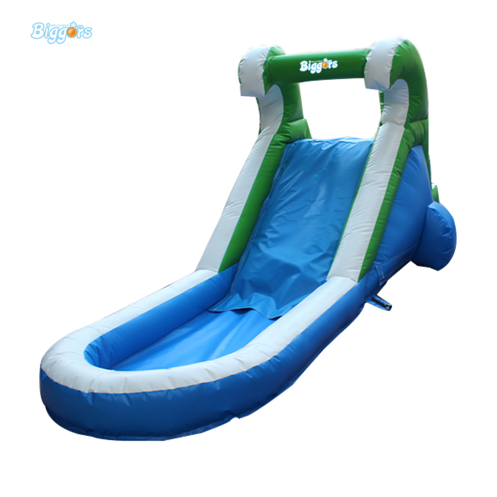 Backyard Mini Inflatable Water Slide With Pool Inflatable Pool Water Slide For Children popular best quality large inflatable water slide with pool for kids