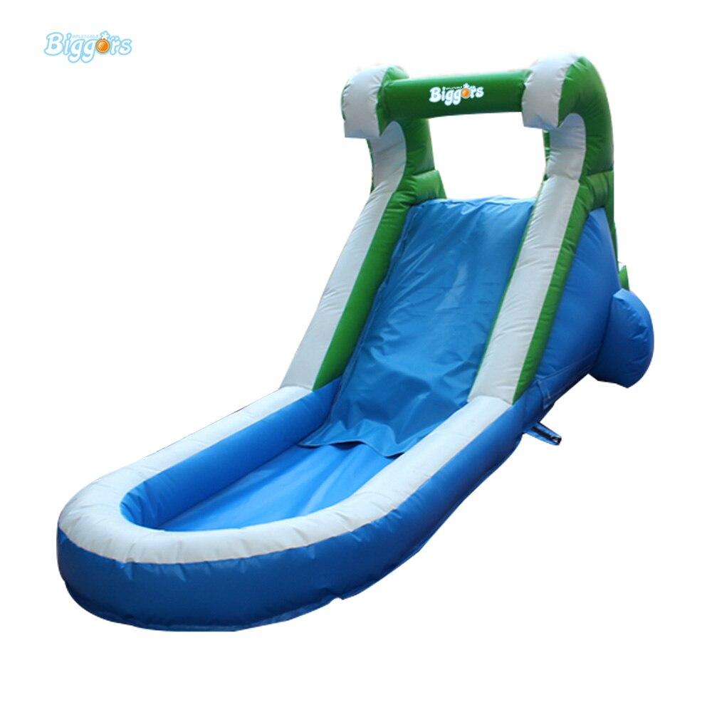 hinterhof mini aufblasbare wasserrutsche mit pool aufblasbaren pool