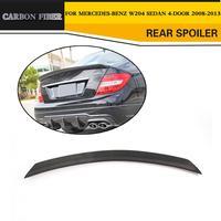 Da Corsa In Fibra di carbonio Posteriore Spoiler per Mercedes-Benz W204 C180 C200 C250 C300 C63 AMG Berlina 4-porta 2008-2014