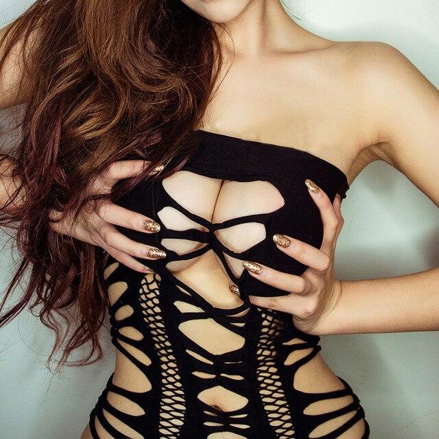 Sexy dress bustier corset
