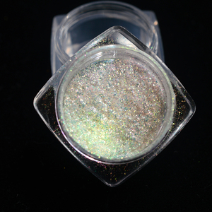 Image 3 - 0.1g Nail Art Mirror Powder Holographic Aurora Neon ฝุ่นเล็บ Chrome Pigment สำหรับความงามทำเล็บมือตกแต่งเล็บ TR107