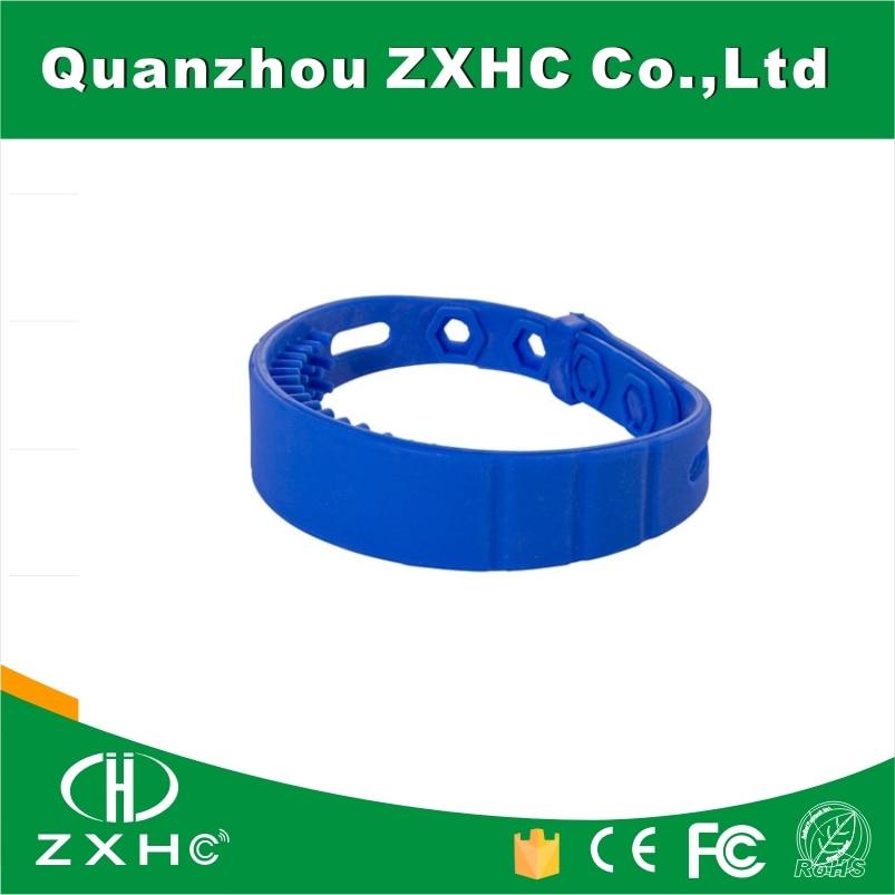 (100PCS) RFID 915Mhz UHF Monza 4QT Slilicone Wristband For Marathon cmm0511 qt 0g0t rf if and rfid mr li