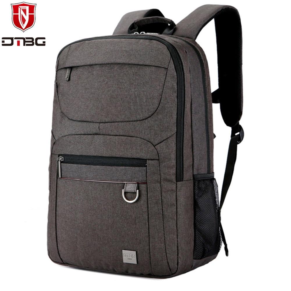 69628dfec82 DTBG Laptop Backpack Men Women s 15.6 Inch Waterproof Laptop Bags for  Lenovo Nylon Computer Backpacks Travel Hiking School Bag