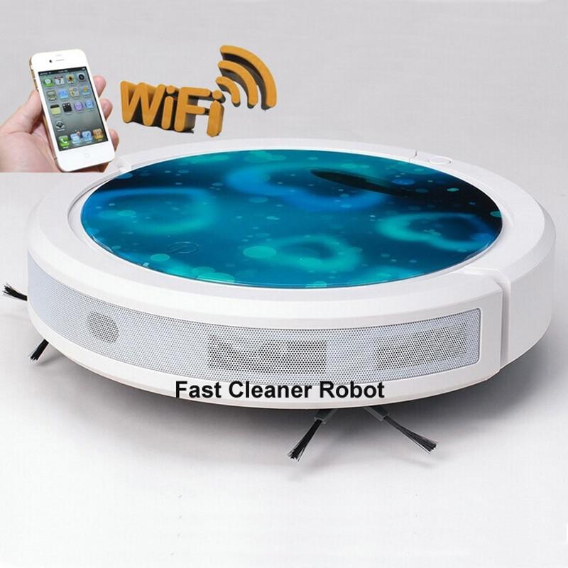 WIFI Smartphone App Control Water Tank Mini Robot փոշեկուլ - Կենցաղային տեխնիկա - Լուսանկար 2