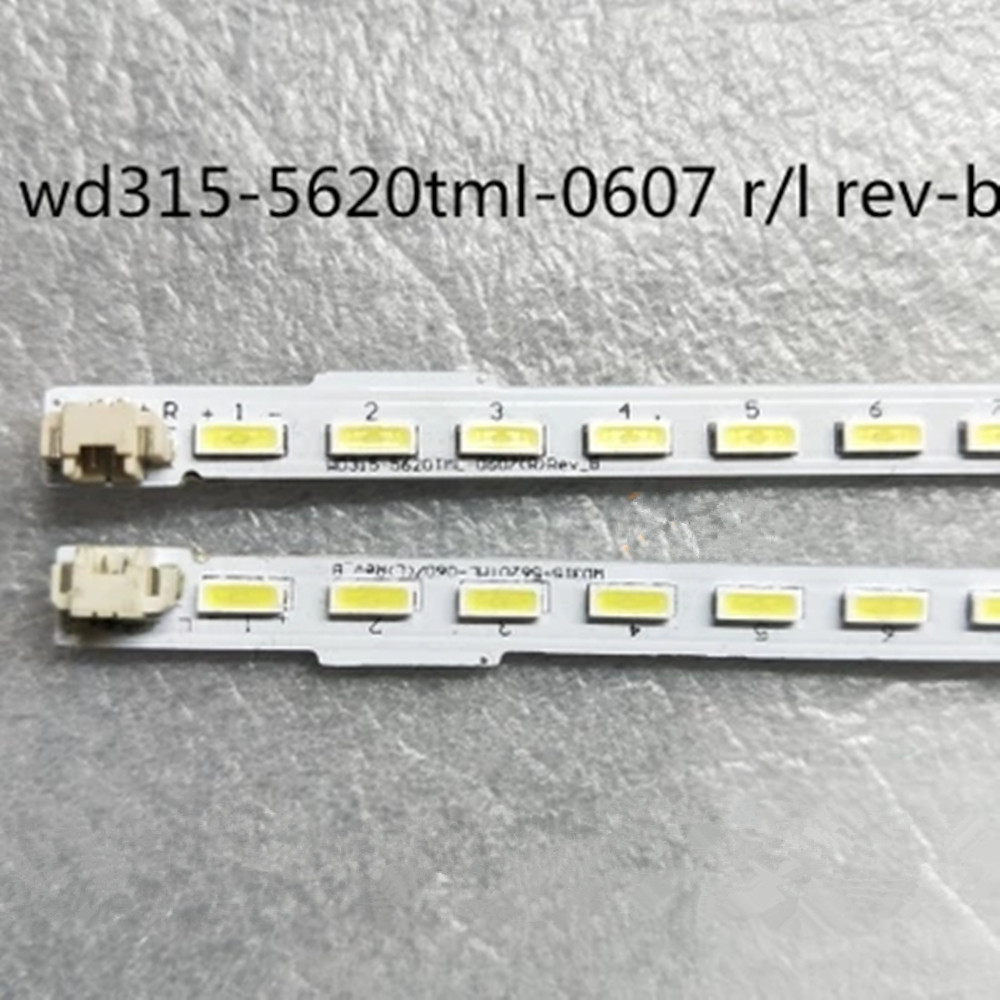 2pieces/lot FOR Led Backlight WD315-5620TML-0607(L) Rev_B  WD315-5620TML-0607(R) Rev_B STV-LC3225AWL  42lamps