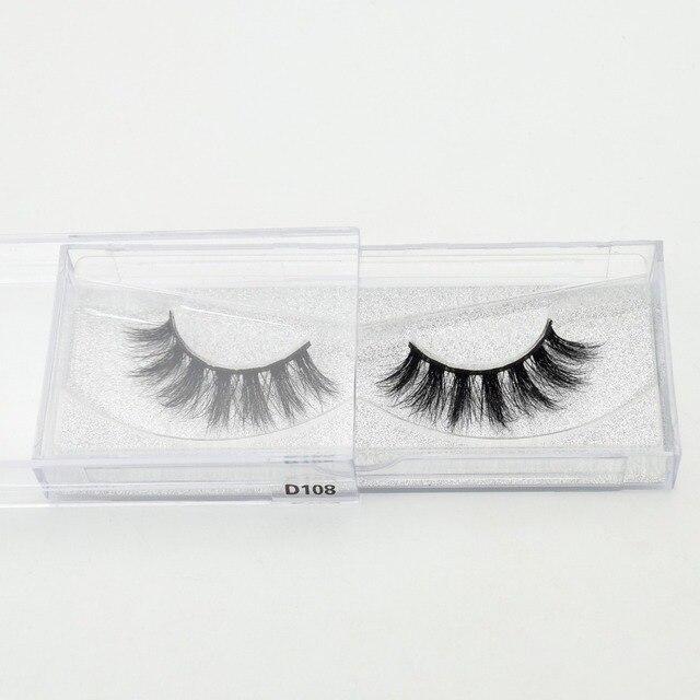 Visofree Eyelashes 3D Mink Lashes Handmade Full Strip Lashes Cruelty Free Luxury Mink Eyelashes Makeup Lash maquiagem faux cils 5