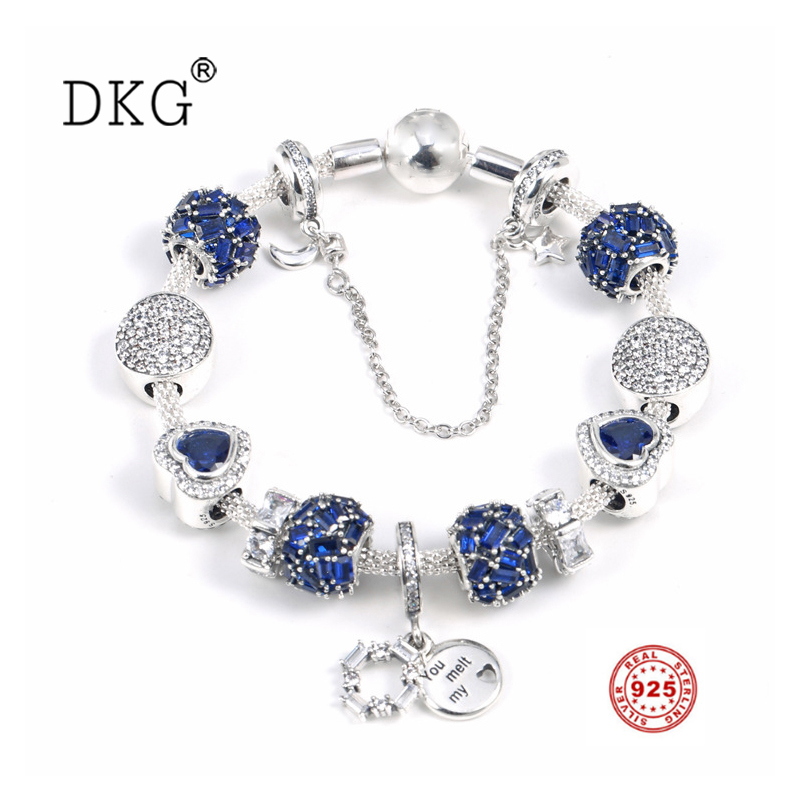 925 Sterling Silver Shine Brilliance Clip Dazzling Wishes Crystal Pendant Set Clear CZ Fit Women Bangle Bead Charm DIY Jewelry925 Sterling Silver Shine Brilliance Clip Dazzling Wishes Crystal Pendant Set Clear CZ Fit Women Bangle Bead Charm DIY Jewelry