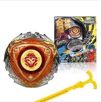 Beyblades Szybkość Beyblade Metal Fusion Spin Top Toy Zestaw Zabawek z Wyrzutni Dzieci Zabawki Top Montaż Super Bitwa