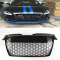 TT TTRS Car-Styling ABS Painted Car Front Bumper Mesh Grille Grill For Audi TT TTS TTRS 2008-2014