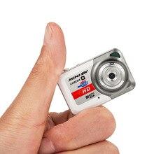 X6 Портативный ультра мини Камера HD мини цифровой Камера 1280*1024 Видео Камера мини DV Поддержка TF карта, карта памяти Micro SD видео Регистраторы