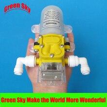 4L/dak 30W su arıtıcısı pompası 12v otomatik diyaframlı su pompası