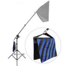 ASHANKS Large size 2 in 1 Multi function 3M Light Stand as Boom Arm stand Top Light Stand Kits for studio Light Softbox Load 8KG