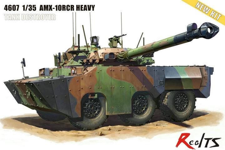 Tiger Model 1/35 AMX-10RCR SEPAR Tank Destroyer #4607